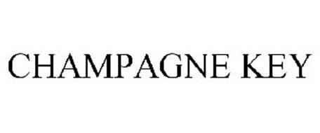 CHAMPAGNE KEY
