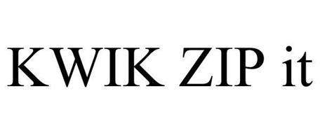 KWIK ZIP IT