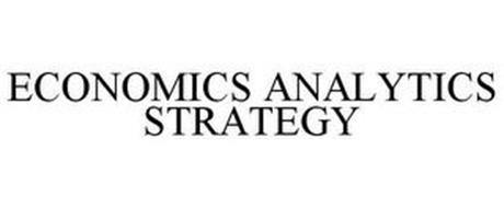 ECONOMICS ANALYTICS STRATEGY