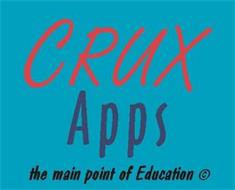 CRUX APPS THE MAIN POINT OF EDUCATION
