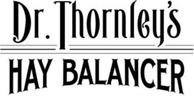 DR. THORNLEY'S HAY BALANCER
