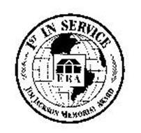 ERA 1ST IN SERVICE JIM JACKSON MEMORIAL AWARD