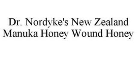 DR. NORDYKE'S NEW ZEALAND MANUKA HONEY WOUND HONEY