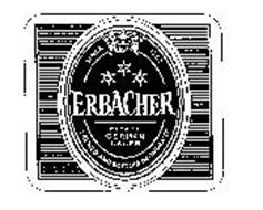 SINCE 1762 ERBACHER PREMIUM GERMAN LAGER BREWED AND BOTTLED IN GERMANY