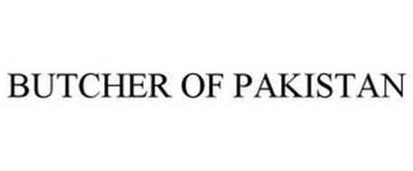 BUTCHER OF PAKISTAN