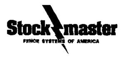 Stock Master Fence Systems Of America Trademark Of Eric