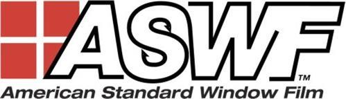 Aswf American Standard Window Film Trademark Of Erickson
