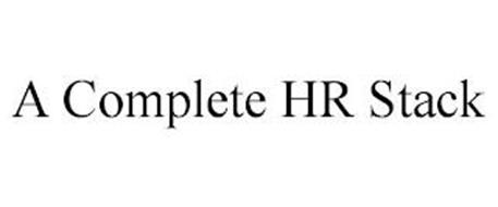 A COMPLETE HR STACK