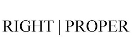 RIGHT | PROPER