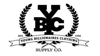 YBC YOUNG BILLIONAIRES CLOTHING SUPPLY CO. EST. 1956