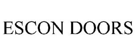 ESCON DOORS  sc 1 st  Trademarkia & ESCON DOORS Trademark of Escon Corporation. Serial Number: 77217276 ...