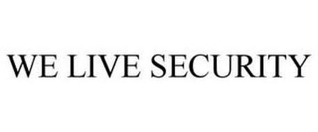 WE LIVE SECURITY