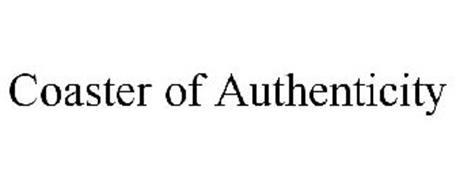 COASTER OF AUTHENTICITY