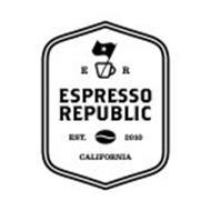E R ESPRESSO REPUBLIC EST. 2010 CALIFORNIA