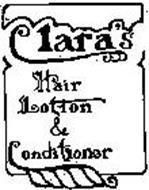 CLARA'S HAIR LOTION & CONDITIONER