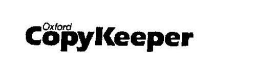 OXFORD COPYKEEPER