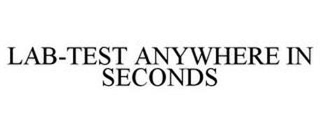 LAB-TEST ANYWHERE IN SECONDS