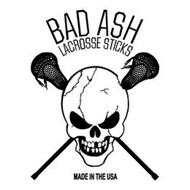 BAD ASH LACROSSE STICKS MADE IN THE USA