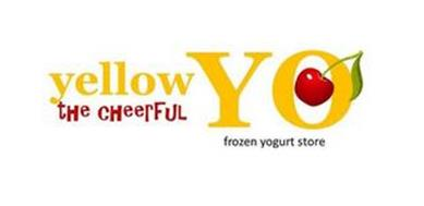 YELLOW YO THE CHEERFUL FROZEN YOGURT STORE