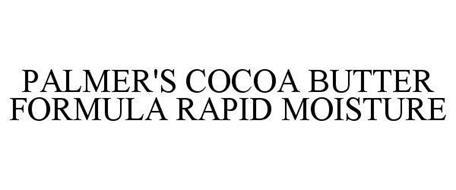 PALMER'S COCOA BUTTER FORMULA RAPID MOISTURE