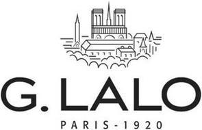 G. LALO PARIS - 1920