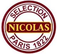 NICOLAS SELECTION PARIS 1822