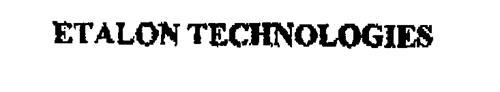 ETALON TECHNOLOGIES