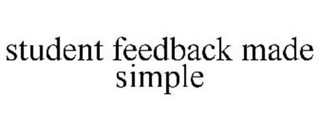 STUDENT FEEDBACK MADE SIMPLE