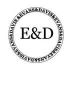 E&D EVANS&DAVIS&EVANS&DAVIS&EVANS&DAVIS&EVANS&DAVIS&