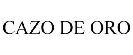 CAZO DE ORO