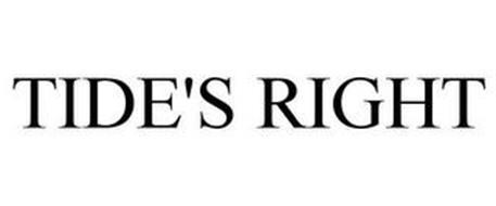 TIDE'S RIGHT