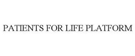 PATIENTS FOR LIFE PLATFORM