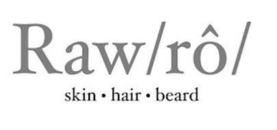 RAW/RÔ/ SKIN · HAIR · BEARD