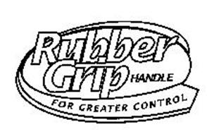 RUBBER GRIP HANDLE FOR GREATER CONTROL