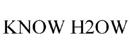 KNOW H2OW