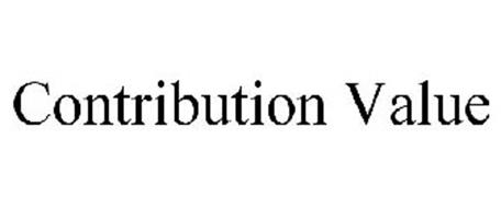 CONTRIBUTION VALUE