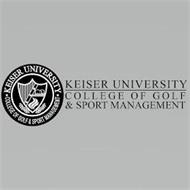 KEISER UNIVERSITY COLLEGE OF GOLF & SPORTS MANAGEMENT