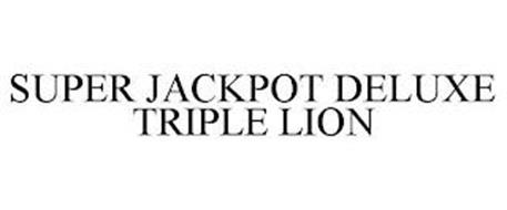 SUPER JACKPOT DELUXE TRIPLE LION