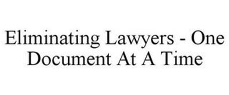 ELIMINATING LAWYERS - ONE DOCUMENT AT ATIME