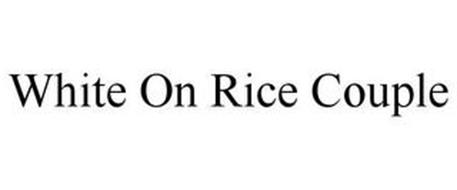 WHITE ON RICE COUPLE