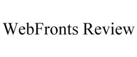 WEBFRONTS REVIEW