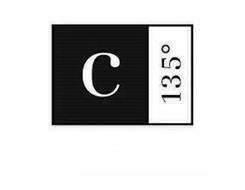 C 135°