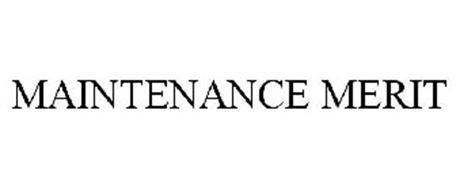 MAINTENANCE MERIT