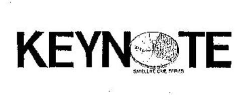 KEYNOTE SATELLITE CME SERIES