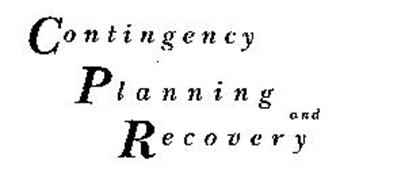 CONTINGENCY PLANNING AND RECOVERY