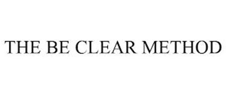 THE BE CLEAR METHOD