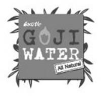 EXOTIC GOJI WATER ALL NATURAL