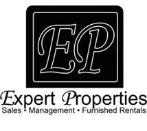EP EXPERT PROPERTIES · SALES MANAGEMENT· FURNISHED RENTALS