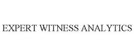 EXPERT WITNESS ANALYTICS