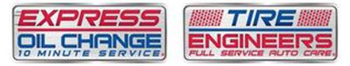 EXPRESS OIL CHANGE 10 MINUTE SERVICE TIRE ENGINEERS FULL SERVICE AUTO CARE